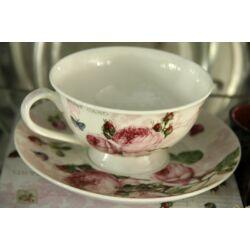 Teáscsésze tányérral