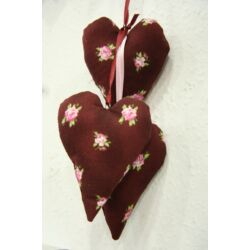 Függő szív (rózsás)