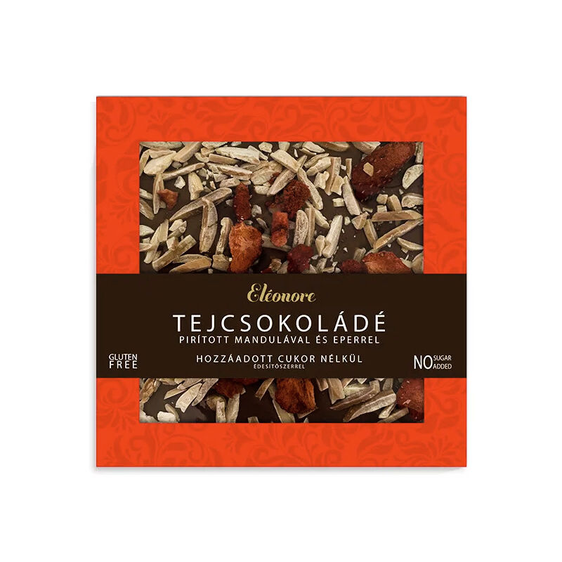 Eléonore kézműves csokoládé hozzáadott cukor nélkül